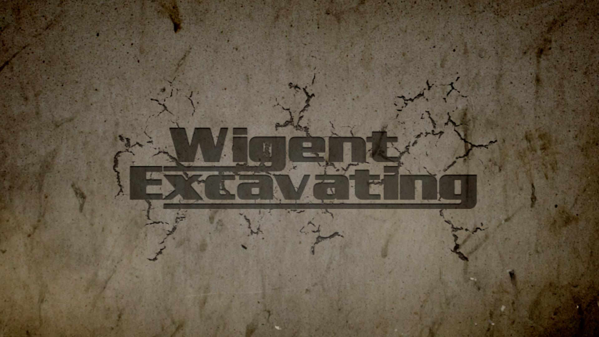 Wigent Excavating Video